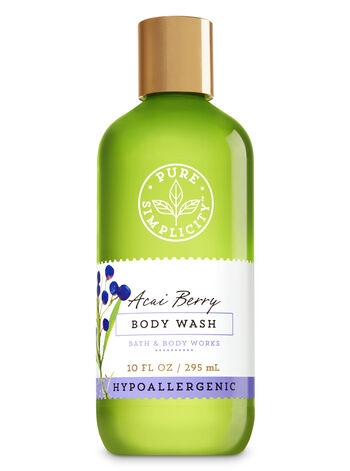 Acai Berry Body Wash - Bath And Body Works