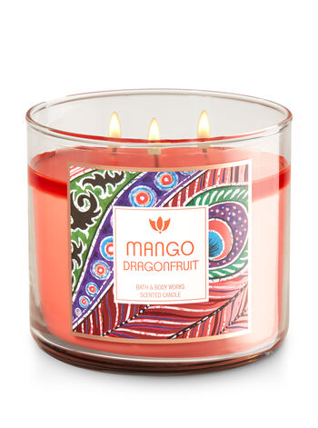 Mango Dragonfruit 3-Wick Candle - Bath And Body Works