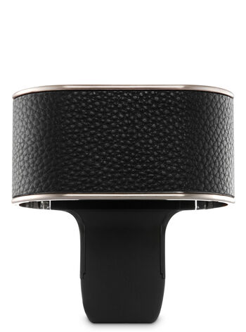 Black Leatherette Scent Switching™ Wallflowers Duo Plug