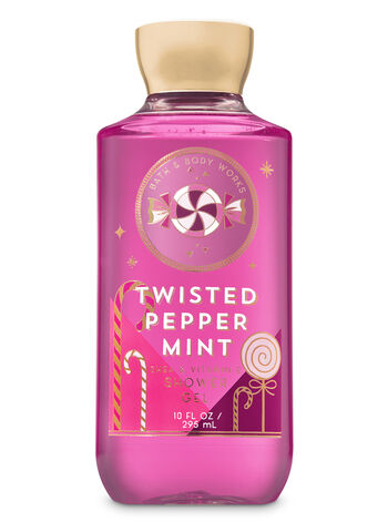 Signature Collection Twisted Peppermint Shower Gel - Bath And Body Works