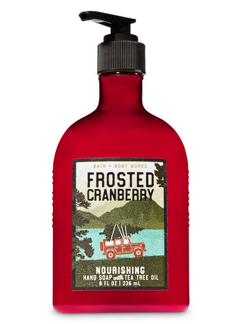 Frosted Cranberry Hand Soap with Tea Tree Oil - Bath And Body Works