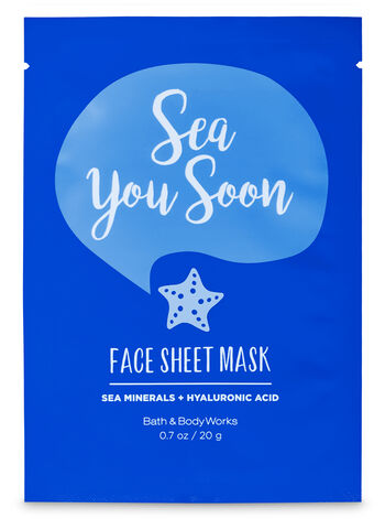 Sea you Soon Face Sheet Mask