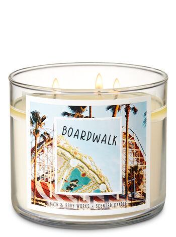 Boardwalk 3-Wick Candle - Bath And Body Works