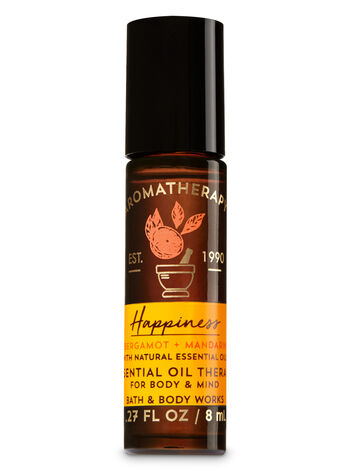 Aromatherapy Happiness - Bergamot & Mandarin Essential Oil Therapy - Bath And Body Works