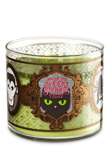 Caramel Pumpkin Swirl With Glitter Lid 3-Wick Candle - Bath And Body Works