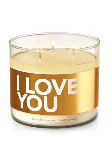 I Love You - Cactus Blossom 3-Wick Candle - Bath And Body Works