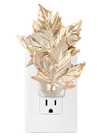 Stacked Gold Leaves Wallflowers Fragrance Plug