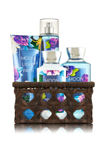Moonlight Path Basket of Favorites Gift Kit - Bath And Body Works