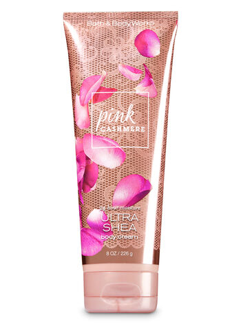 Signature Collection Pink Cashmere Ultra Shea Body Cream - Bath And Body Works