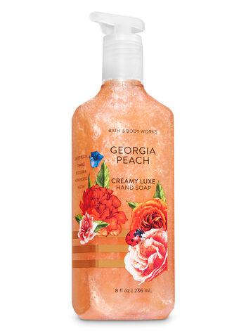 Georgia Peach Creamy Luxe Hand Soap - Bath And Body Works