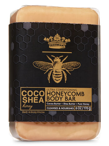 Signature Collection CocoShea Honey Body Bar - Bath And Body Works