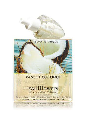 Vanilla Coconut Wallflowers 2-Pack Refills - Bath And Body Works