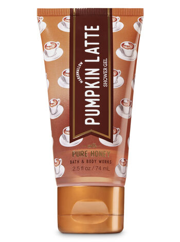 Signature Collection Marshmallow Pumpkin Latte Travel Size Shower Gel - Bath And Body Works