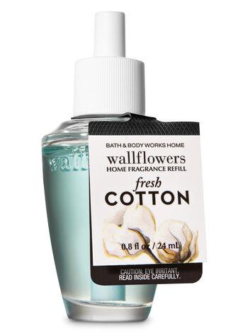 Fresh Cotton Wallflowers Fragrance Refill - Bath And Body Works