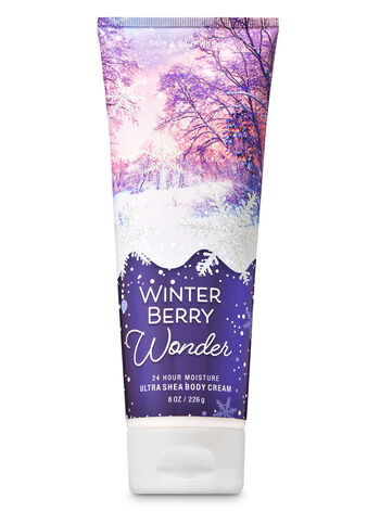 Signature Collection Winter Berry Wonder Ultra Shea Body Cream - Bath And Body Works
