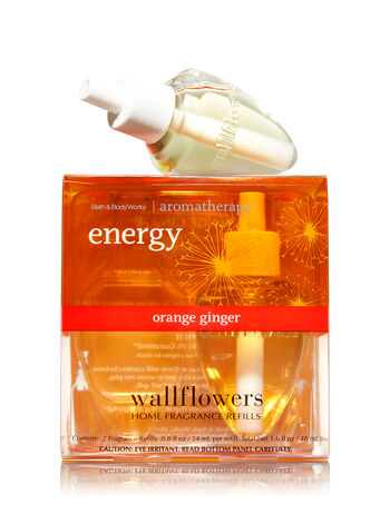 Aromatherapy Orange Ginger Wallflowers 2-Pack Refills - Bath And Body Works