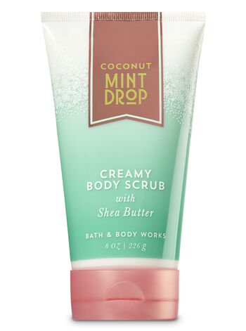 Signature Collection Coconut Mint Drop Creamy Body Scrub - Bath And Body Works