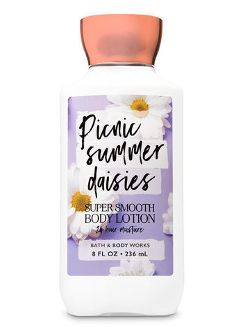 Signature Collection Picnic Summer Daisies Super Smooth Body Lotion - Bath And Body Works