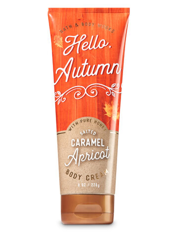 Signature Collection Salted Caramel Apricot Body Cream - Bath And Body Works