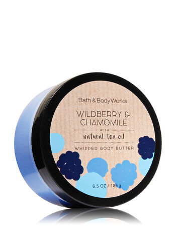 Signature Collection Wildberry & Chamomile Whipped Body Butter - Bath And Body Works