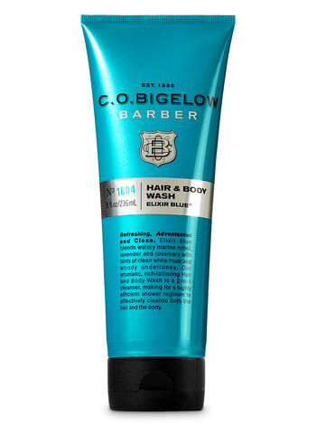 C.O. Bigelow Elixir Blue Men's Hair & Body Wash - Bath And Body Works