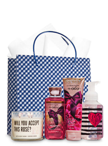 A Thousand Wishes Ultimate Fragrance Fan Gift Kit - Bath And Body Works