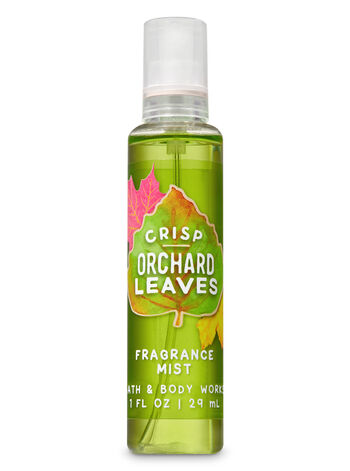 Crisp Orchard Leaves Travel Size Fine Fragrance Mist - Bath And Body Works