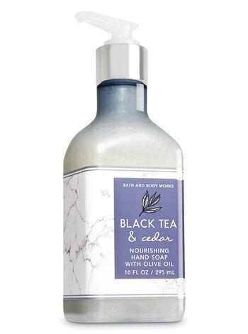 Black Tea & Cedar Hand Soap with Olive Oil - Bath And Body Works