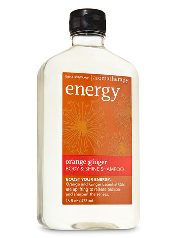 Aromatherapy Orange Ginger Body & Shine Shampoo - Bath And Body Works