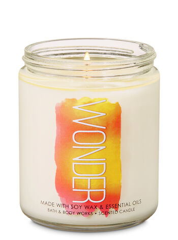 Pineapple Mango Single Wick Candle - Bath And Body Works