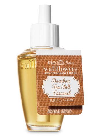 Bourbon Sea Salt Caramel Wallflowers Fragrance Refill - Bath And Body Works