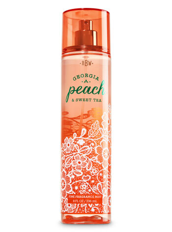 Signature Collection Georgia Peach Sweet Tea Fine Fragrance Mist - Bath And Body Works