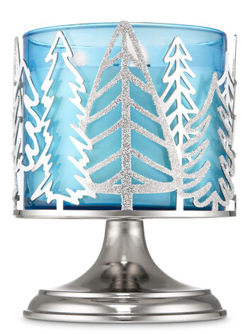 Silver Forest 3-Wick Candle Holder - Bath And Body Works