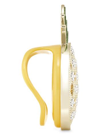 Shiny Pineapple Visor Clip Scentportable Holder
