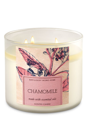 Chamomile 3-Wick Candle - Bath And Body Works