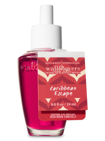 Caribbean Escape Wallflowers Fragrance Refill - Bath And Body Works