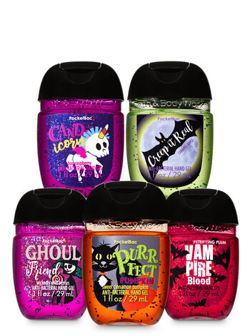 Halloween PocketBac Hand Sanitizers, 5-Pack - Bath And Body Works