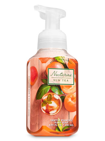 Nectarine Sun Tea Gentle Foaming Hand Soap - Bath And Body Works