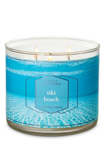 Tiki Beach 3-Wick Candle - Bath And Body Works