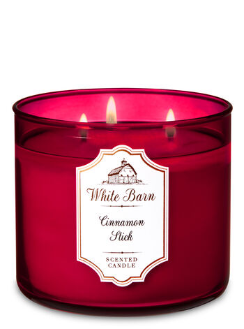 Cinnamon Stick 3-Wick Candle - Bath And Body Works
