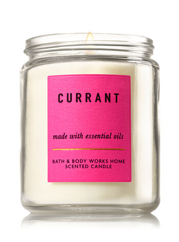 Currant Single Wick Candle