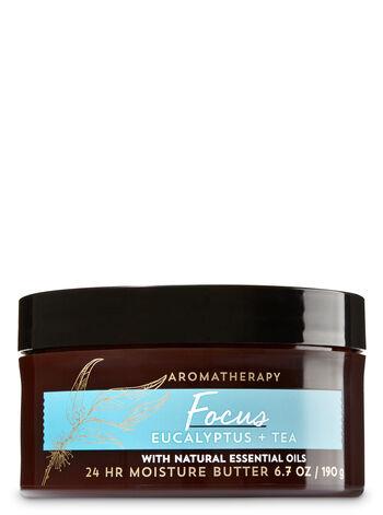 Aromatherapy Focus - Eucalyptus & Tea Body Butter - Bath And Body Works