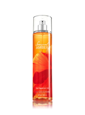 Signature Collection Sensual Amber Fine Fragrance Mist - Bath And Body Works