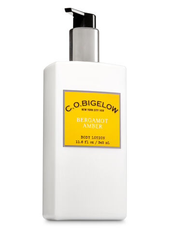 C.O. Bigelow Bergamot Amber Body Lotion - Bath And Body Works