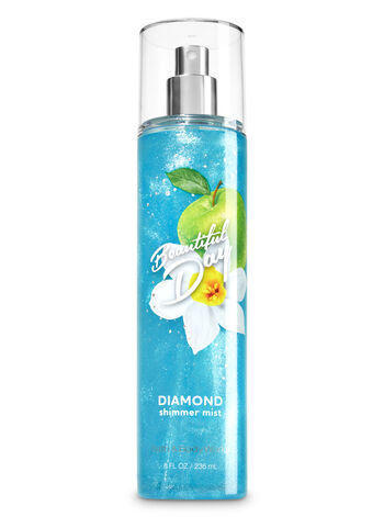 Signature Collection Beautiful Day Diamond Shimmer Mist - Bath And Body Works