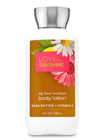 Signature Collection Love & Sunshine Super Smooth Body Lotion - Bath And Body Works