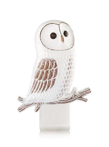 Wooden Barn Owl Wallflowers Fragrance Plug