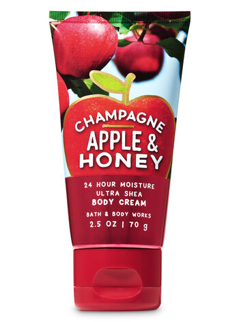 Champagne Apple & Honey Travel Size Body Cream - Bath And Body Works