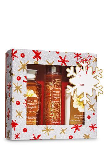 Warm Vanilla Sugar Snowflakes Box Gift Set