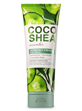 Signature Collection CocoShea Cucumber Body Wash - Bath And Body Works